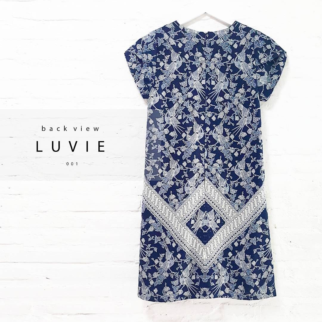 New Comer 🍀 Luvie 001 Classic Porcelain Batik Design With