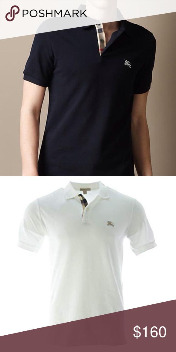 Burberry lot of 2 polo shirt Burberry brit mens lot of 2 check polo shirt  size large Shirts Polos 57fddcf7c2df