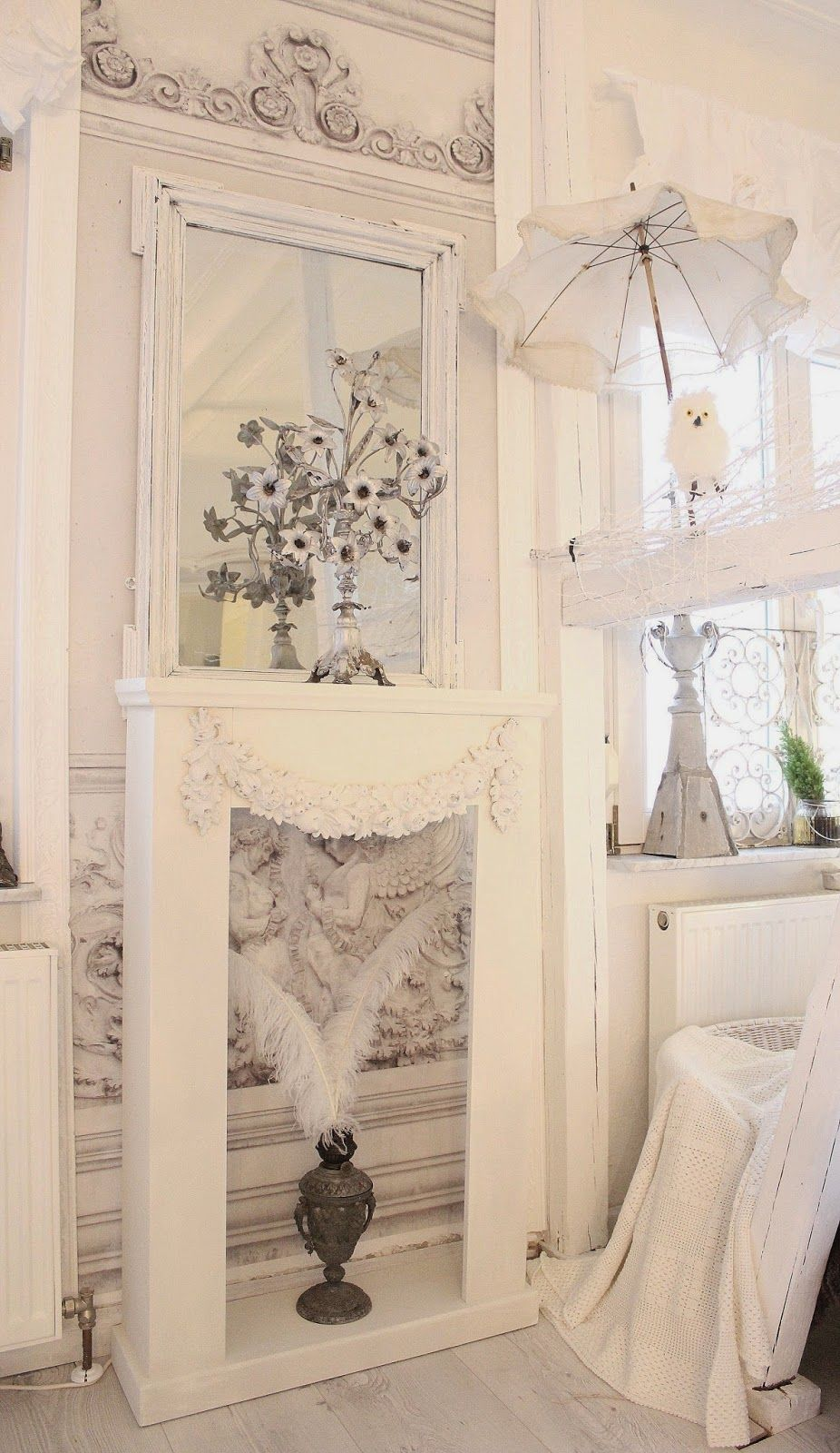 Romantische Möbel Shabby Chic Heavens Rosé Cottage Шебби