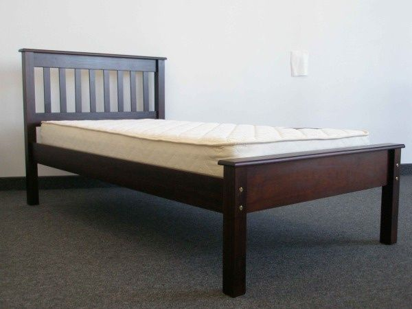 Twin Bed - Cappuccino delivered for only $198, $198