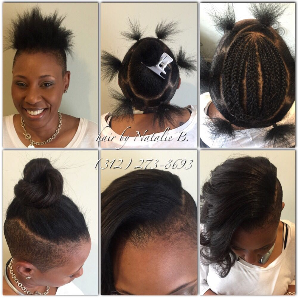 Before u afterperfect pony sewin hair weaves by natalie b