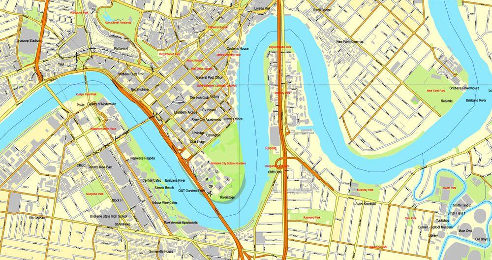 Vector Map Brisbane, Australia, printable vector street City Plan map V3-2016.08, full editable, Adobe Illustrator, full vector, scalable, editable, text format ofstreet names, 16MbZIP. DOWNLOAD NOW>>> http://vectormap.info/product/vector-map-brisbane-australia-printable-vector-street-city-plan-map-v3-2016-08-full-editable-adobe-illustrator-full-vector-scalable-editable/