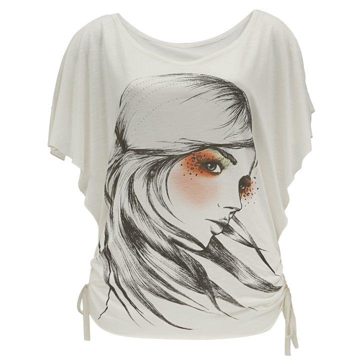 Blusa estampada R$49.90 http://bit.ly/blusapw