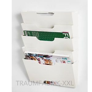 IKEA Zeitschriftenhalter Zeitungshalter Briefhalter Wandhalter ...