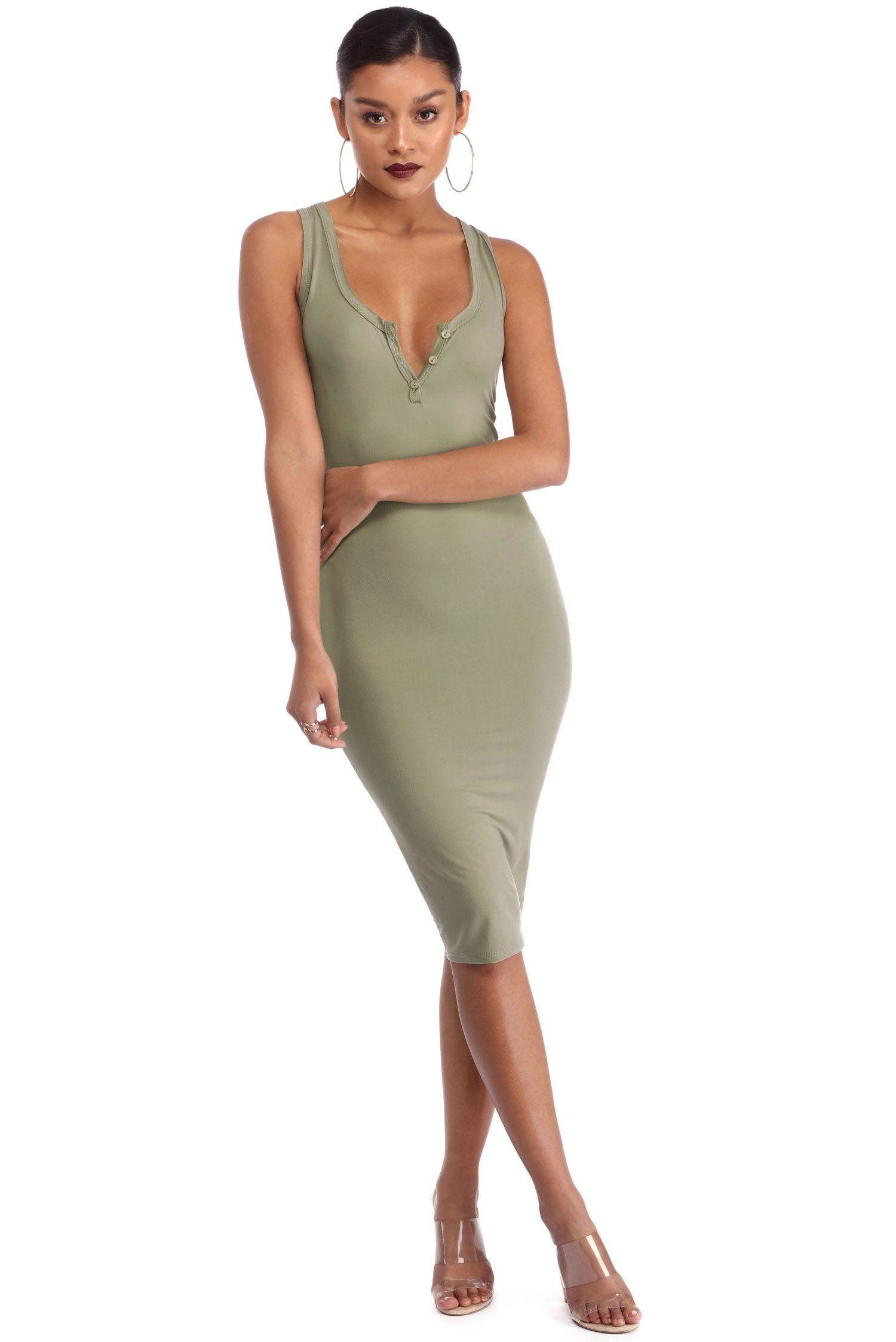 Olive buttons up midi dress windsor love fashion pinterest