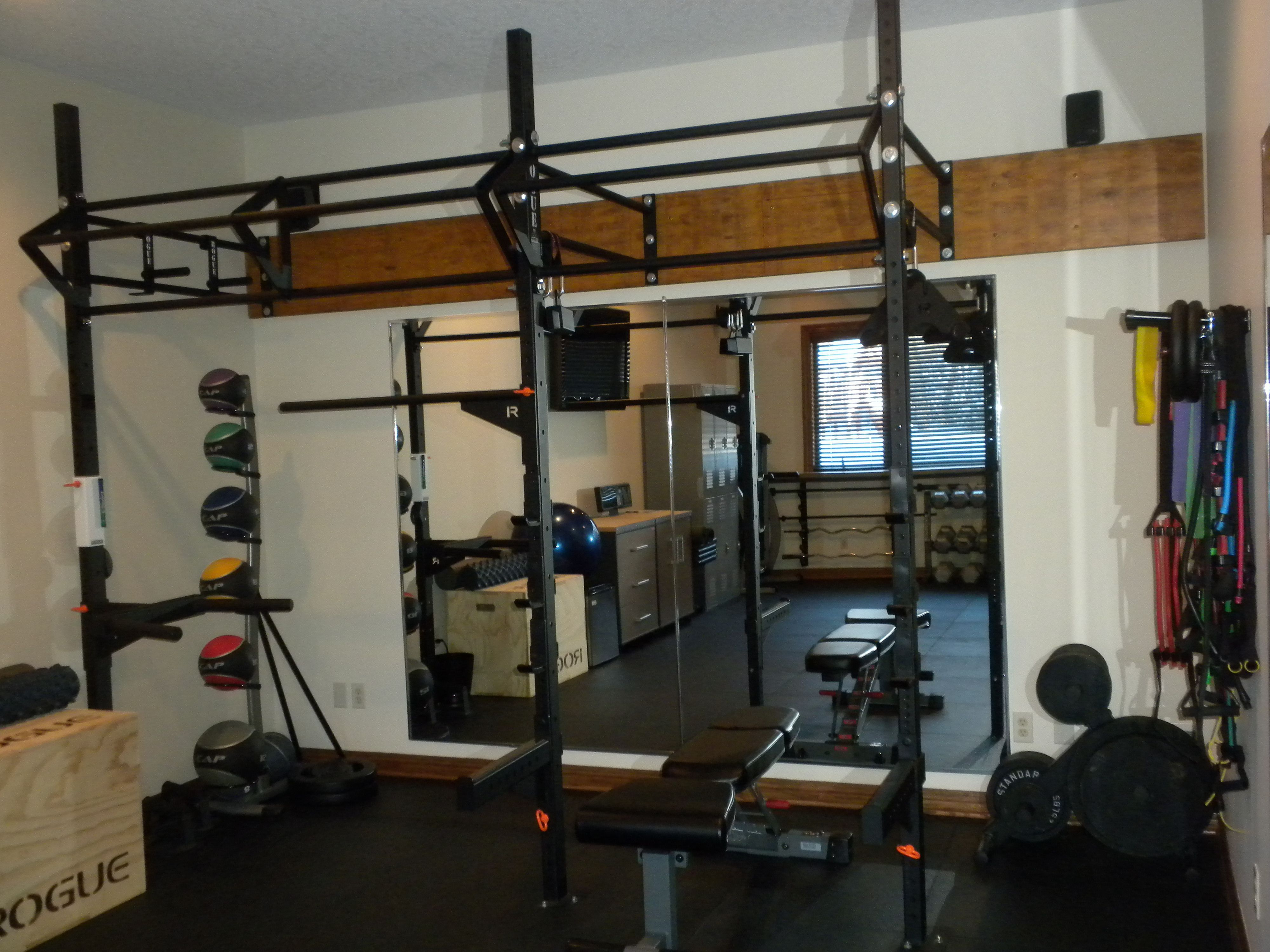Awesome 48 Small Space Home Gym Decorating Ideas More At