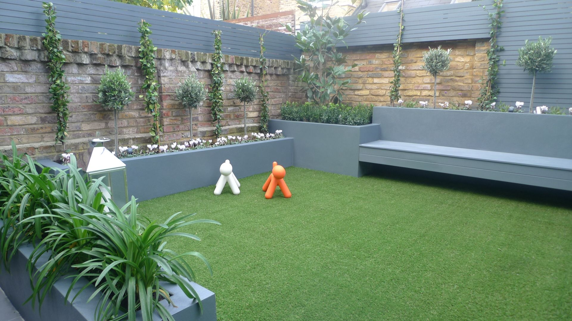 image result for white grass lawn