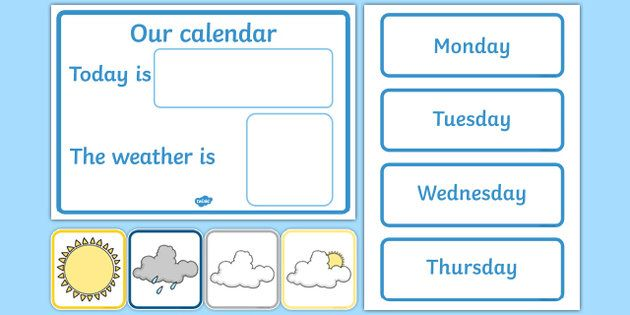 Pin By Desi On Junior Weather Chart Daily Calendar Weather Calendar