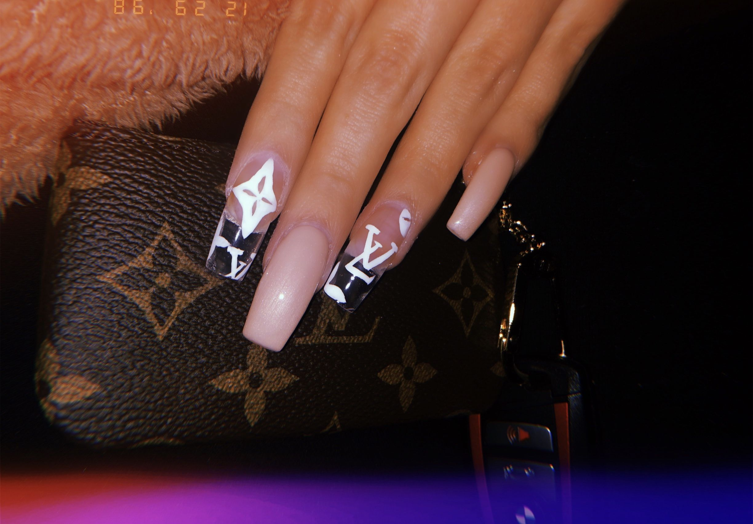 Louis Vuitton Nails Louis Vuitton Nails Nails Gucci Nails
