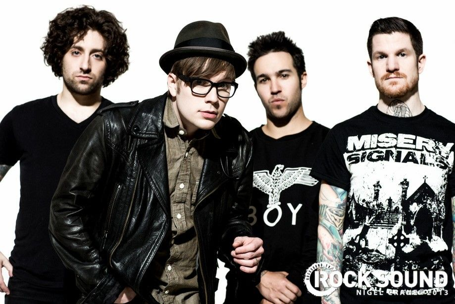 Fall out boy u got to love them! :-)