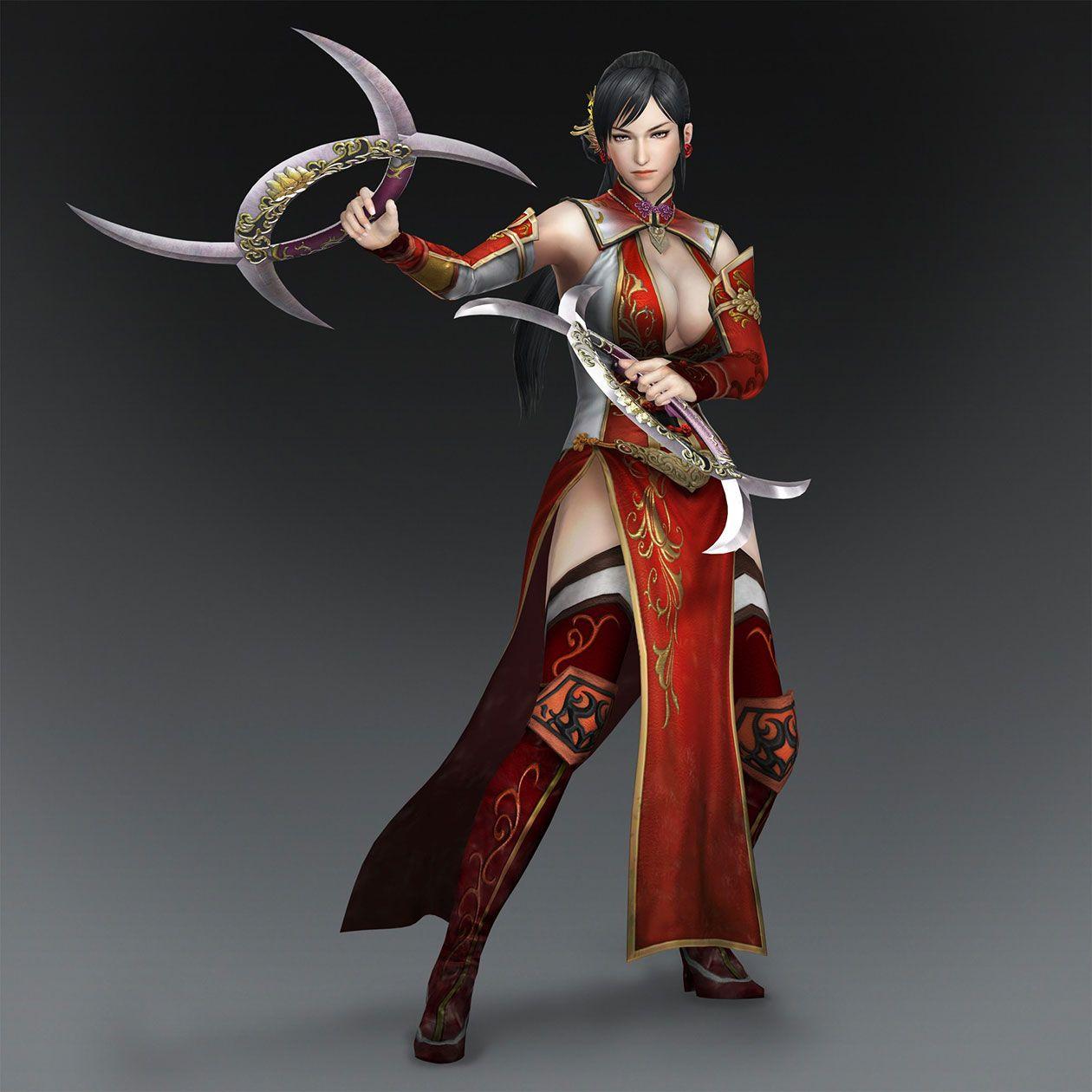 Warriors Orochi 3 Lian Shi: Lian Shi & Weapon (Wu Forces)