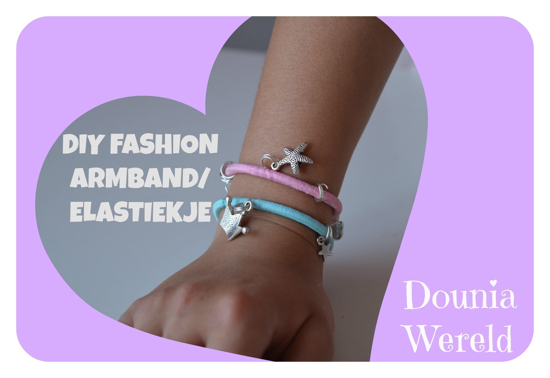 DIY hair elastic bracelets haar elastiekje als armband  https://www.youtube.com/watch?v=dfmJTcK-DF4