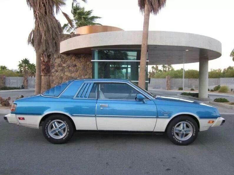 78 Dodge Challenger, G54B powered. Same as Mitsubishi Sapparo ...
