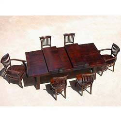 Nottingham Rustic Furniture Wood Dining Table