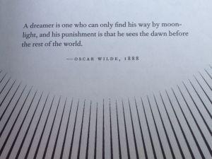 Oscar Wilde – A dreamer
