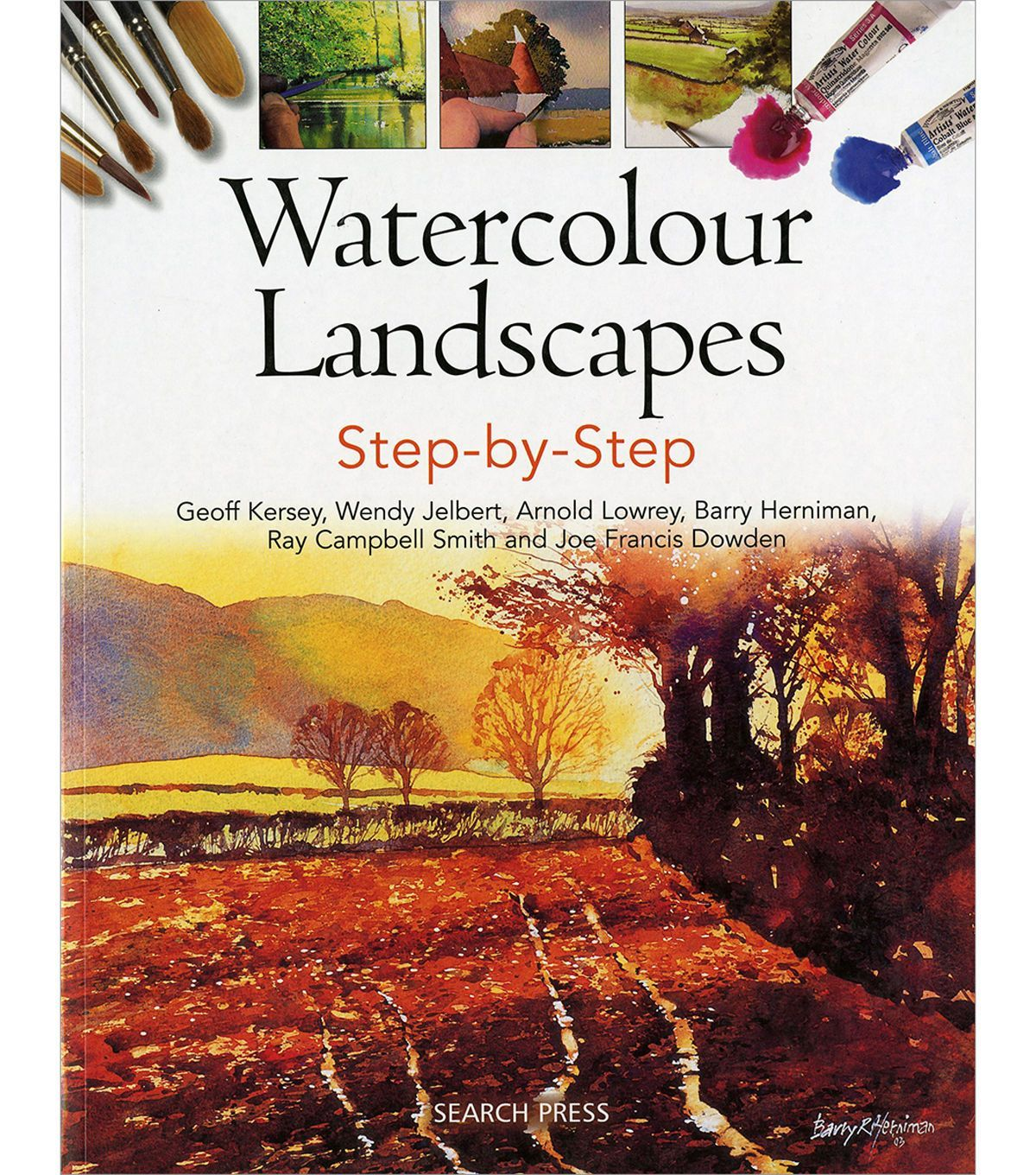 Watercolor books by search press - Watercolour Landscapes Step By Step