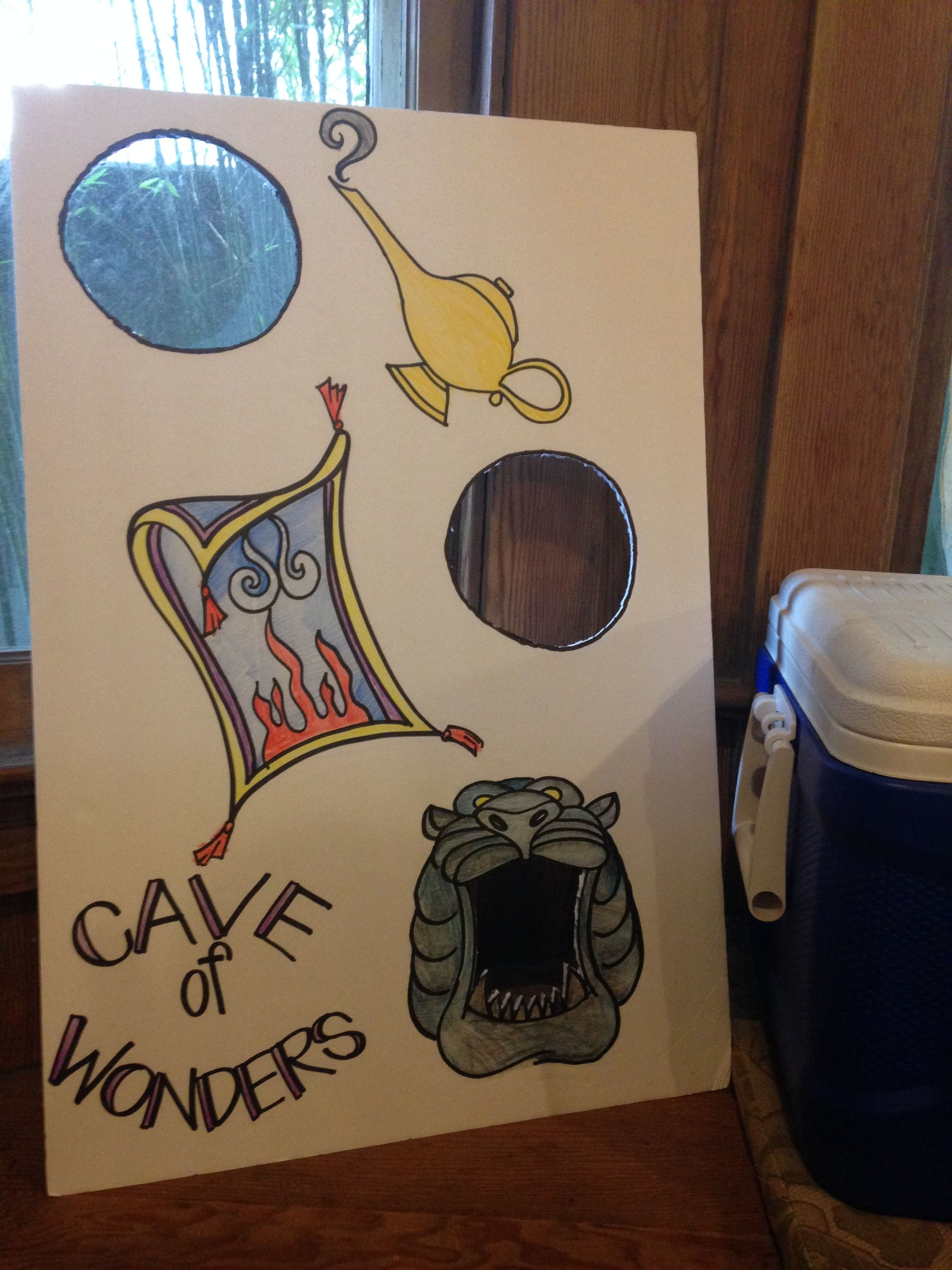Awesome Cave Of Wonders Bean Bag Toss For Chloes Aladdin Party Gmtry Best Dining Table And Chair Ideas Images Gmtryco