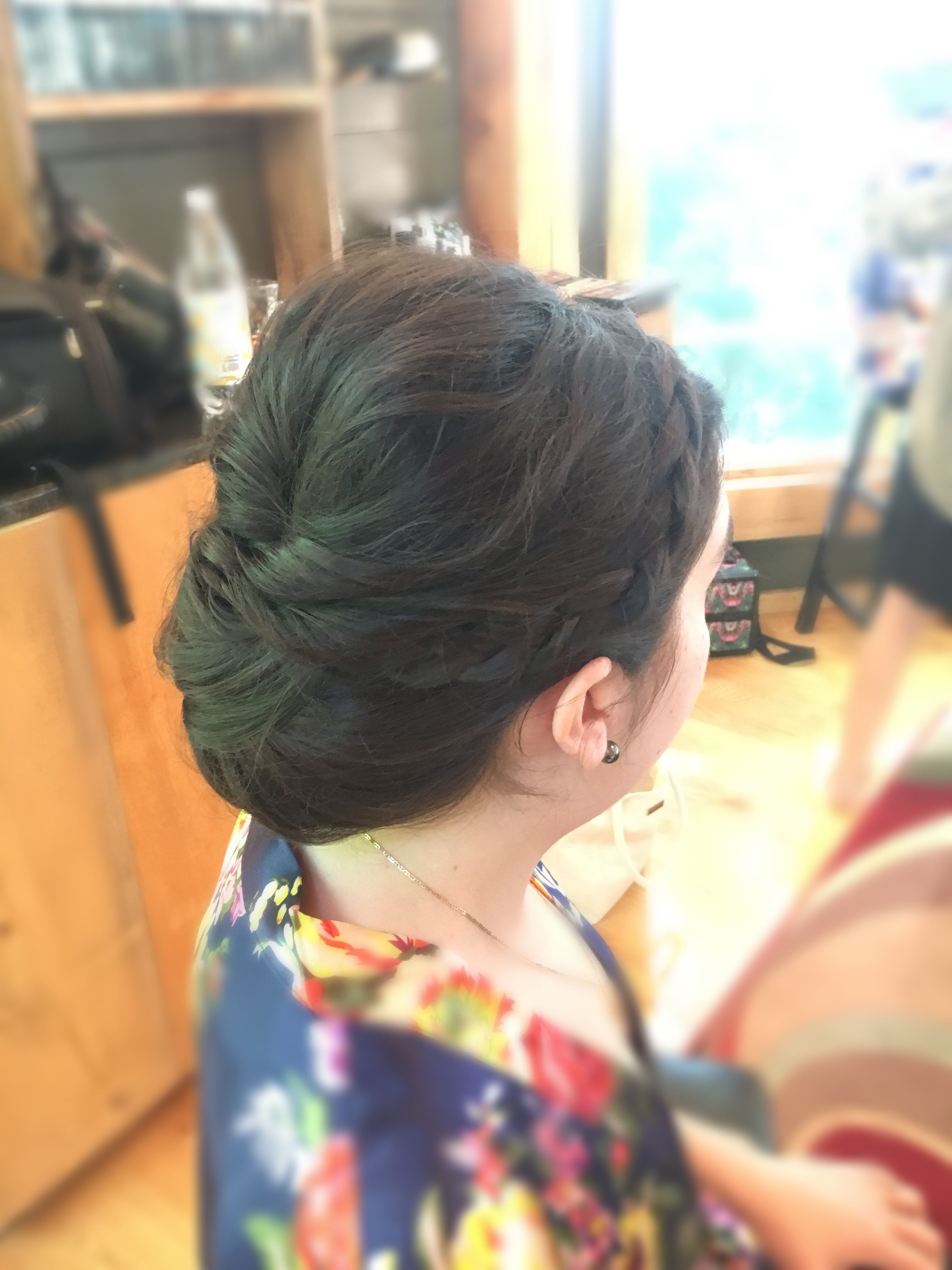 Bridal hair by Jillain at jluxe salon in Syracuse New York