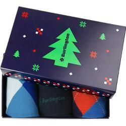 Photo of Burlington Herrensocken in Geschenkbox blau Burlington