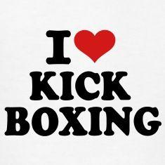 I love KickboxingKids' Shirts.