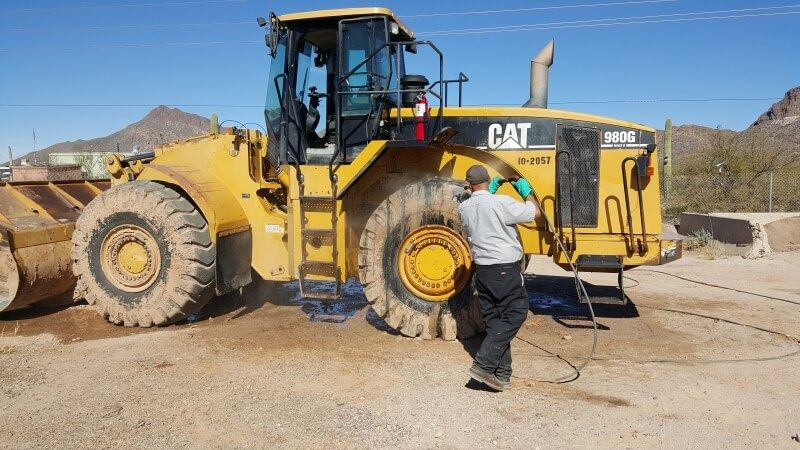 Construction site cleanup is a tough task cleaning