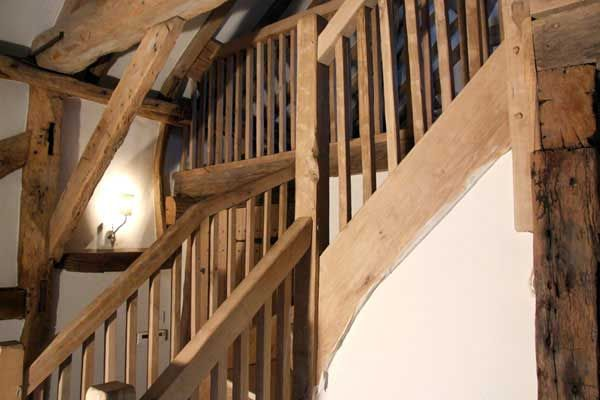 Image Result For Rustic Green Oak Staircases Staircase Green