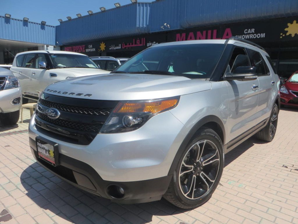 Ford Explorer 2014, silver GCC Spec, 4WD. Price109500