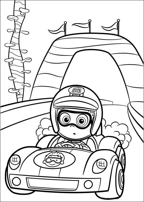 Desenhos para pintar Bubble Guppies 36 | Desenhos para colorir ...