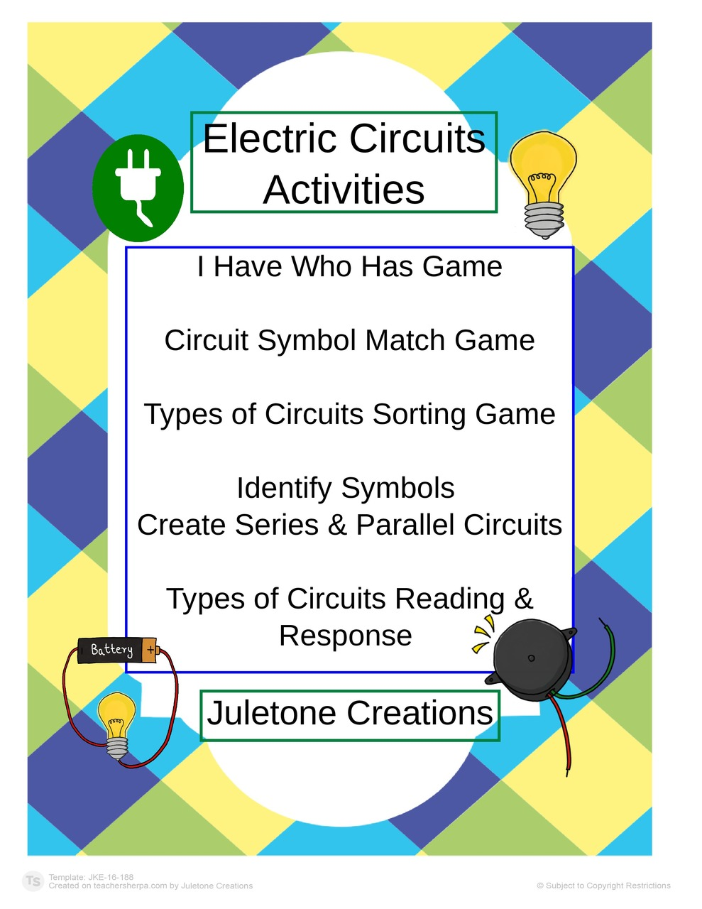 Electric Circuit Activities Amped Up Learning Electric Circuit Activities Classroom Lessons [ 1280 x 989 Pixel ]