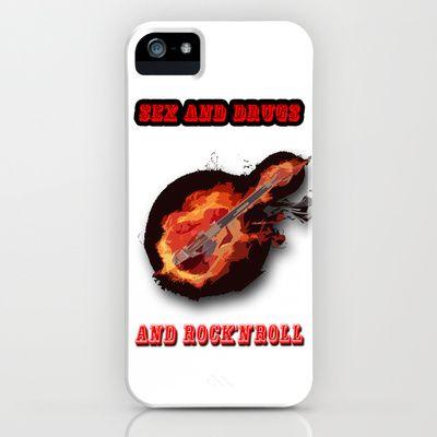 Rock'N'Roll  iPhone & iPod Case by Karl-Heinz Lüpke - $35.00