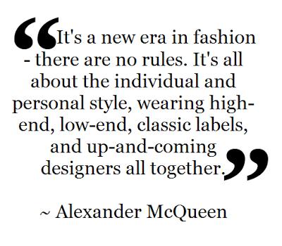 Fashion Quote ~ Alexander McQueen | Fashion quotes, Fashion ...