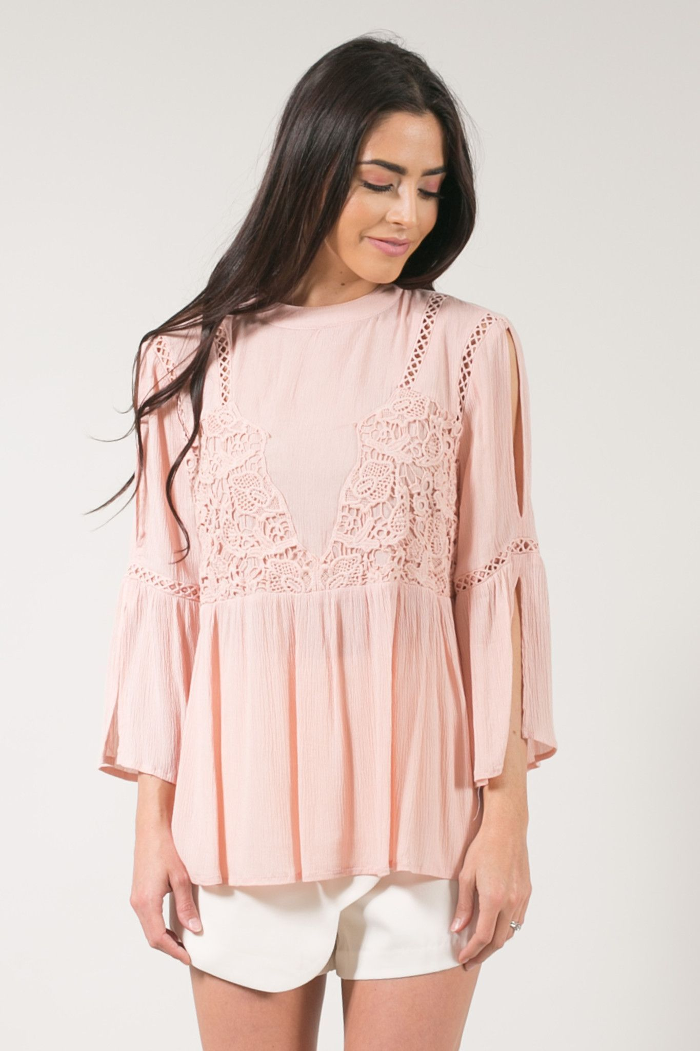 Image result for blush embroidered flowy top