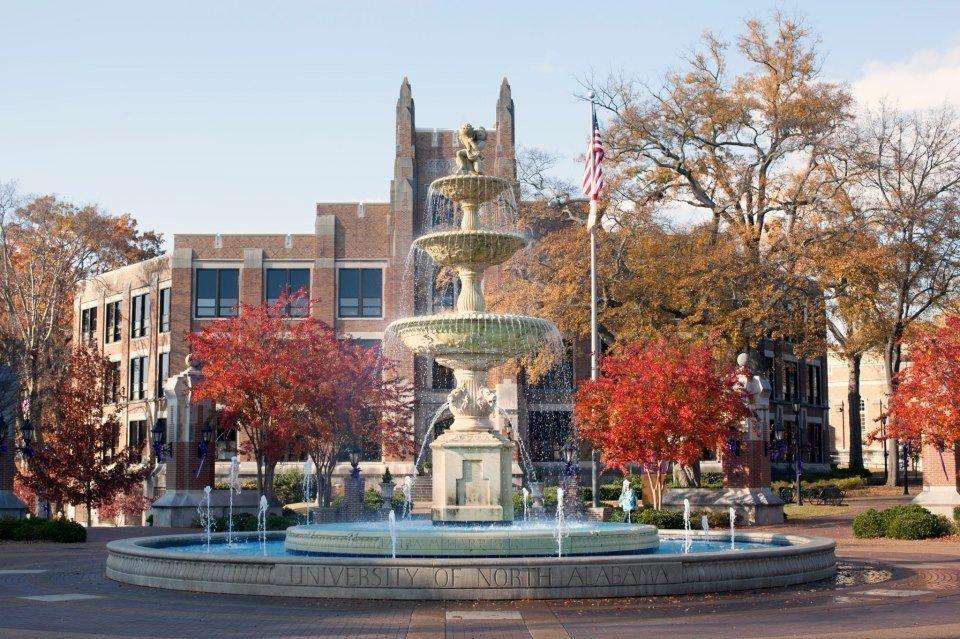 Bibb Graves Hall At University Of North Alabama Florence Al