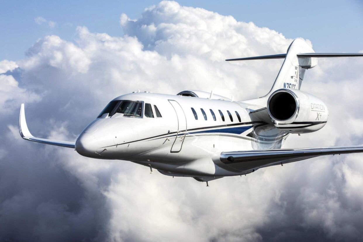Cessna Citation X Private Jet Private Jet Plane Private Aircraft