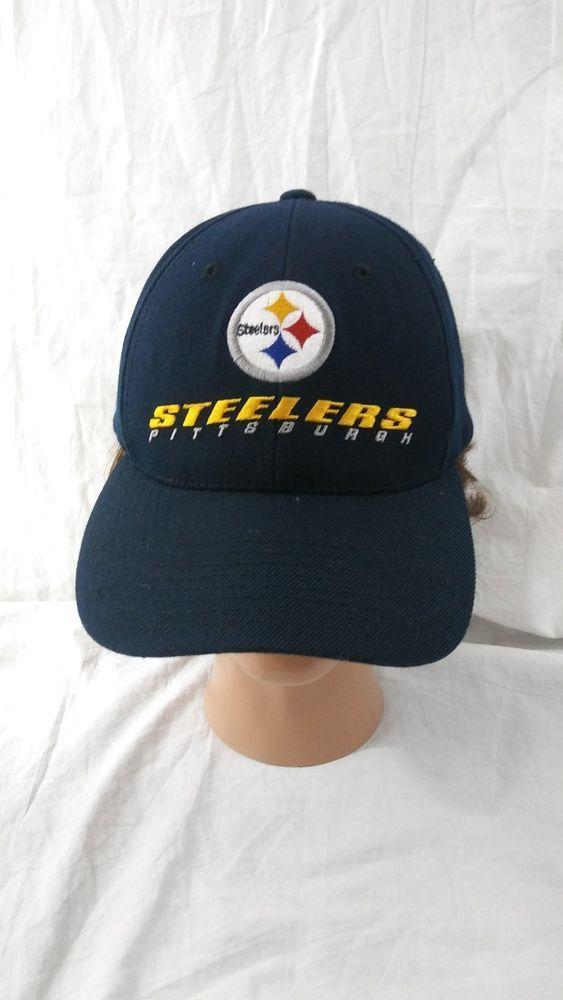 66570fea1d4b5 Pittsburgh Steelers Baseball Cap Black Snapback Hat NFL Football   PittsburghSteelers