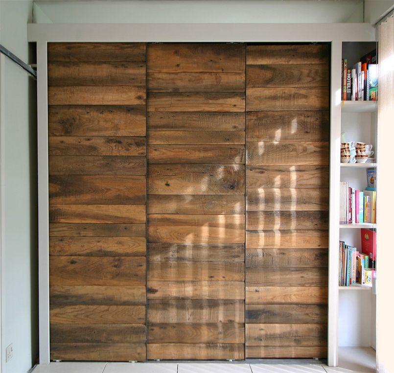 Rustic Ash Sliding Door Cabinet