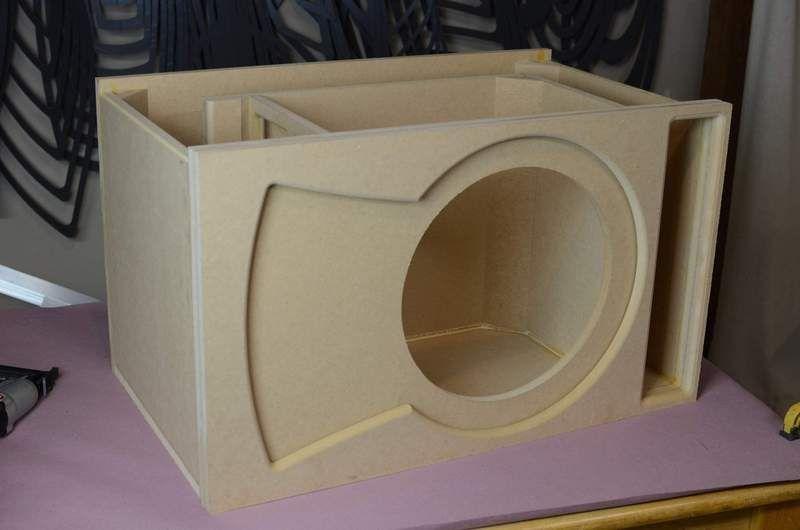Make Your Own Car Subwoofer Box Using Ct Sounds Single 15 Inch Ported Subwoofer Box Design Single Sub Box Desig Em 2020 Caixa De Grave Som Automotivo Caixas Acusticas