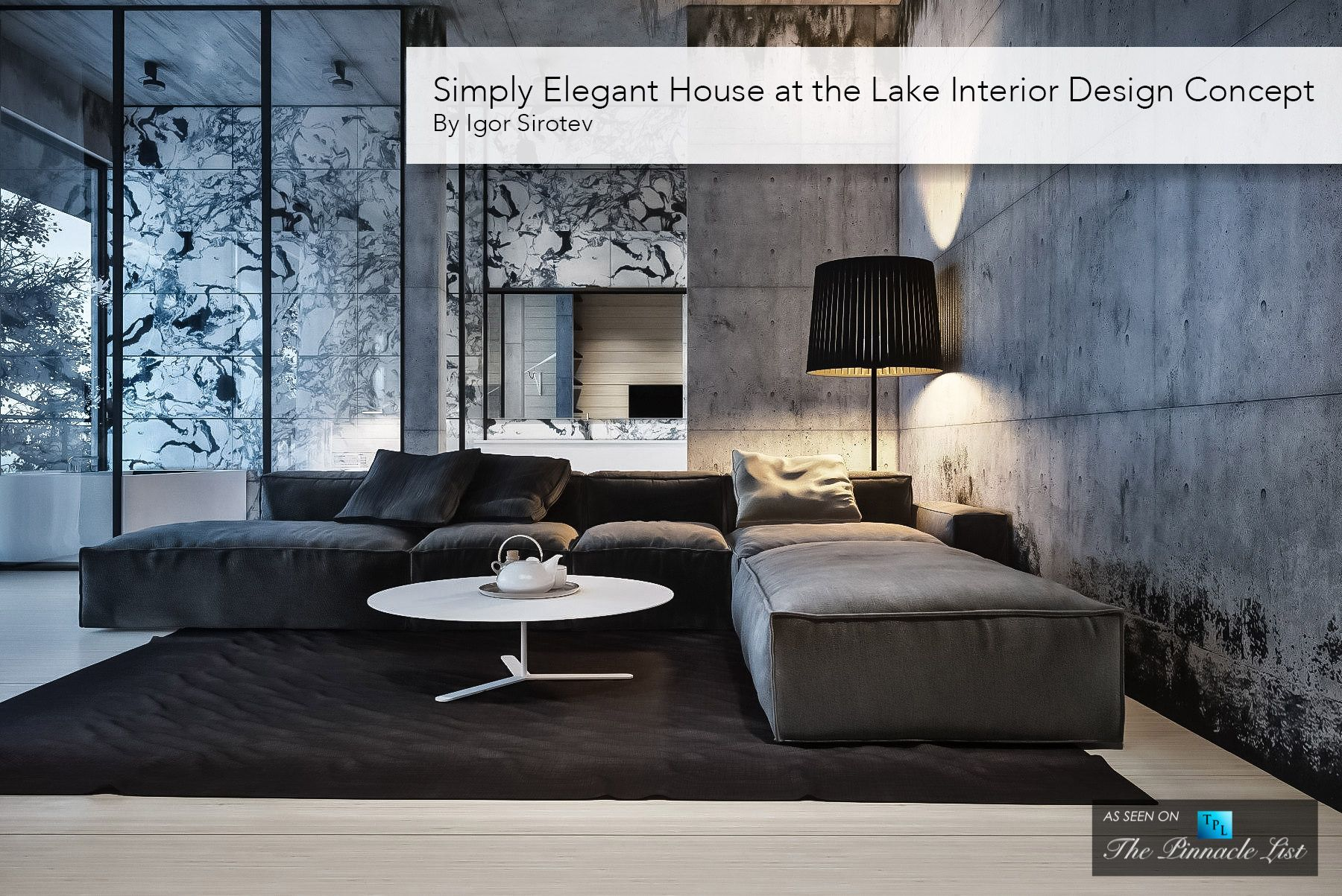 Simply Elegant House at the Lake Interior Design Concept by Igor ...