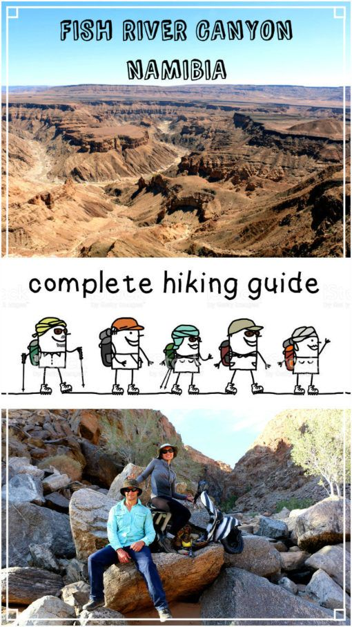 Fish River Canyon Day Trip - Beard and Curly | Hiking trip