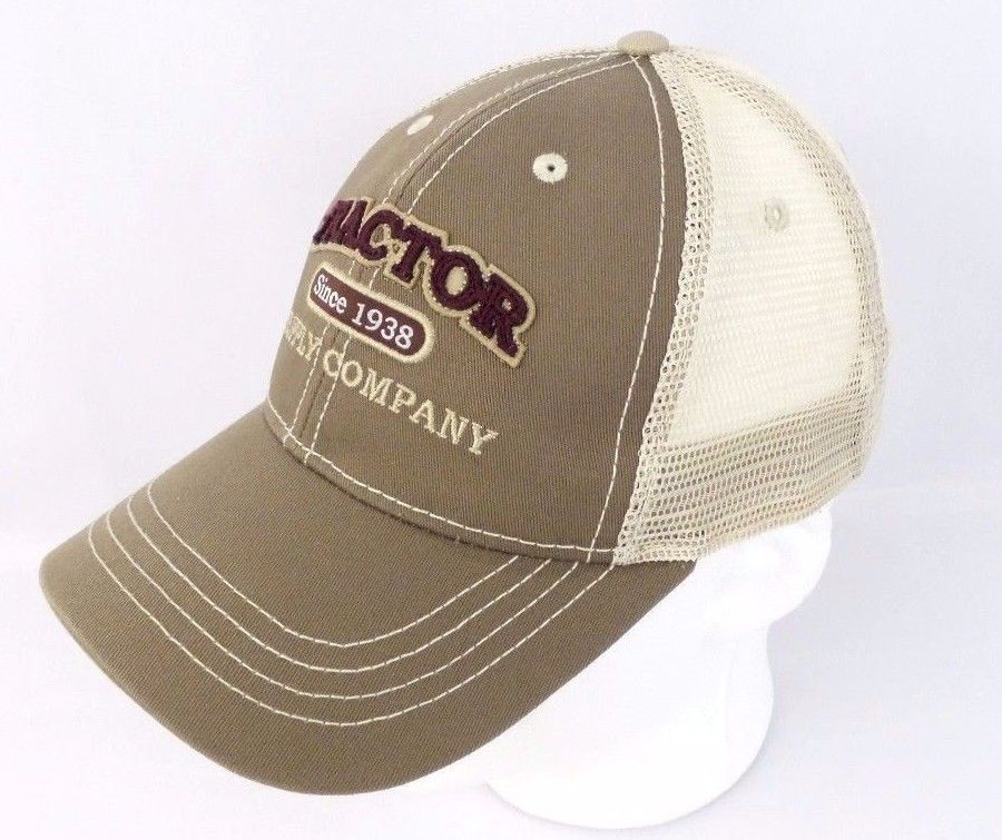 a091720d61f Tractor Supply Co Outdoor Equipment Baseball Hat Cap Embroidered Mesh Khaki  Tan #Unbranded #BaseballCap