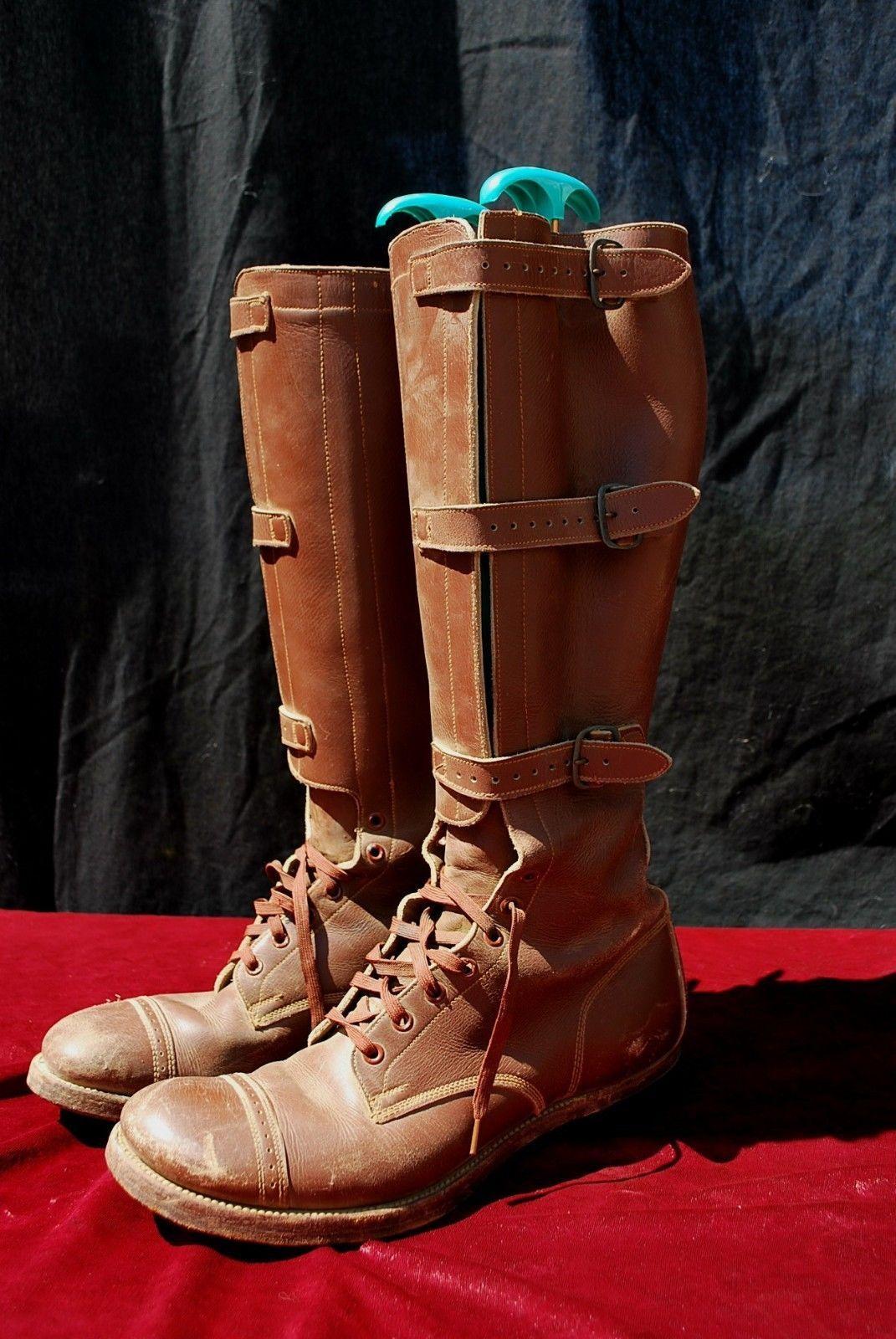 bottes vtg s de la deuxième l'armée guerre mondiale, les bottes de l'armée deuxième militaire des États - unis - m. 502d88
