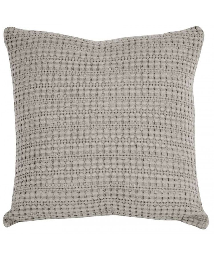 Taie De Coussin 40 X 40 Cm Perle Taupe