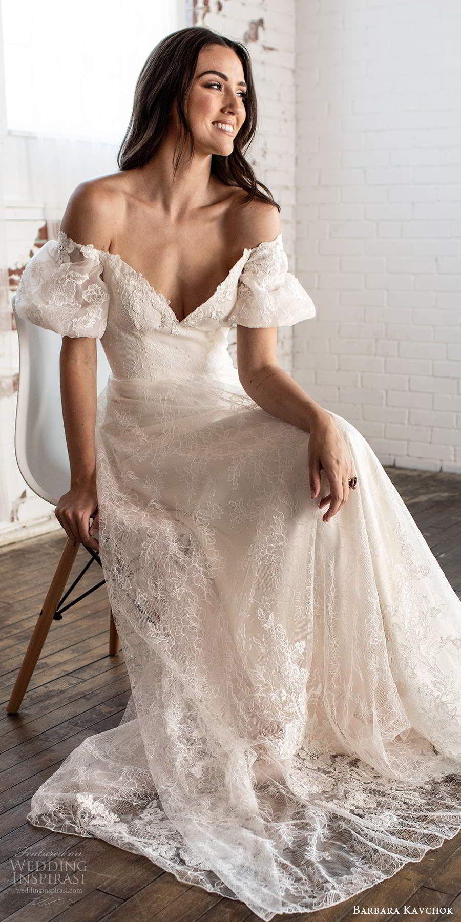 Barbara Kavchok Fall 2020 Wedding Dresses | Wedding Inspirasi