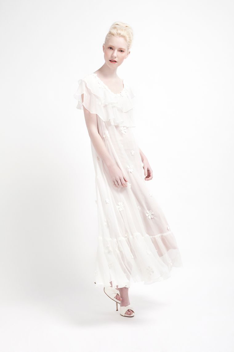The cherry blossom wedding dress by kelsey genna i am in love