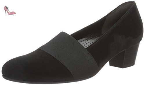 Gabor Shoes Comfort Basic, Escarpins Femme, (51 Schwarz), 37 EU