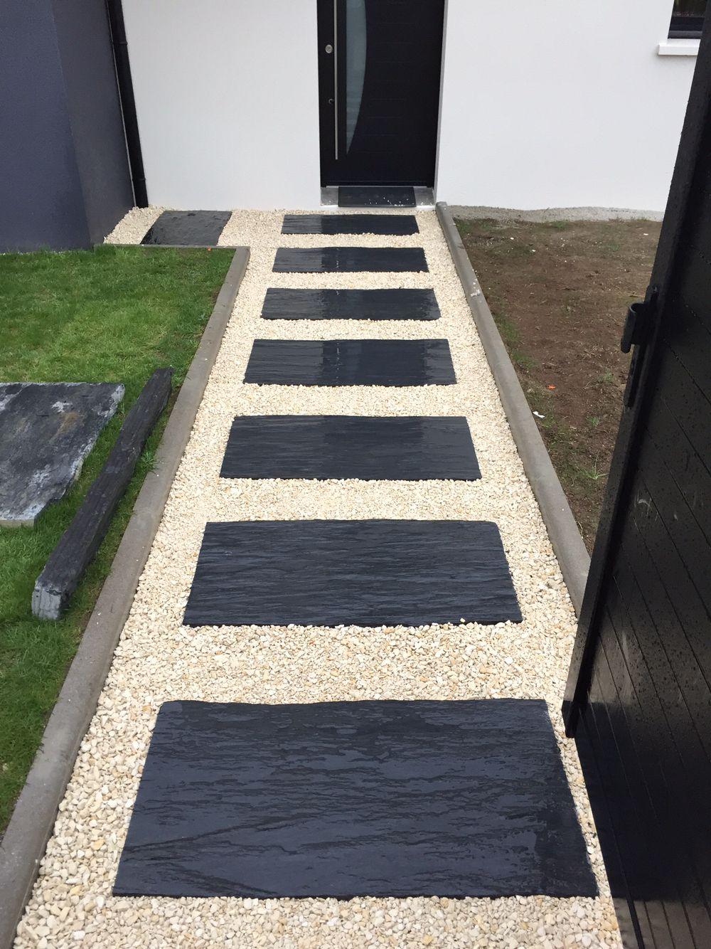Dalle de schist terrasse | Deco maison | Pinterest | Dalles ...