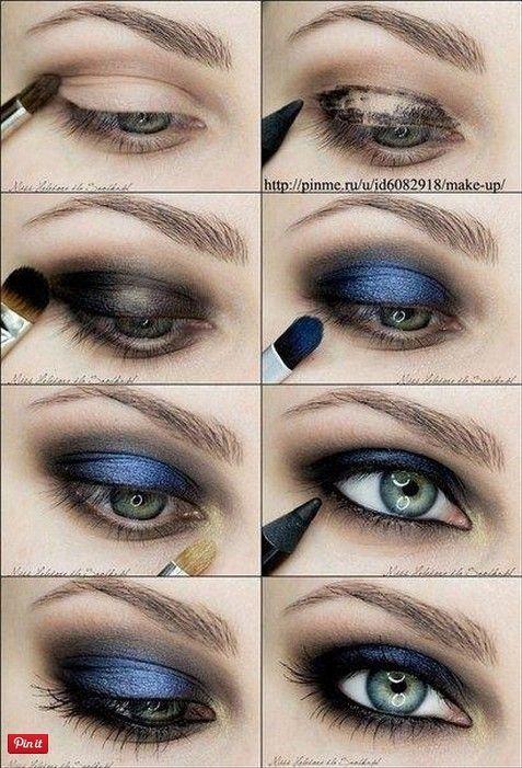 Photo of 20 tolle Make-up-Tutorials für blaue Augen