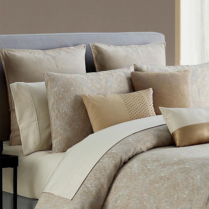 Samara Neutral 3 Piece Comforter Set Comforter Sets King