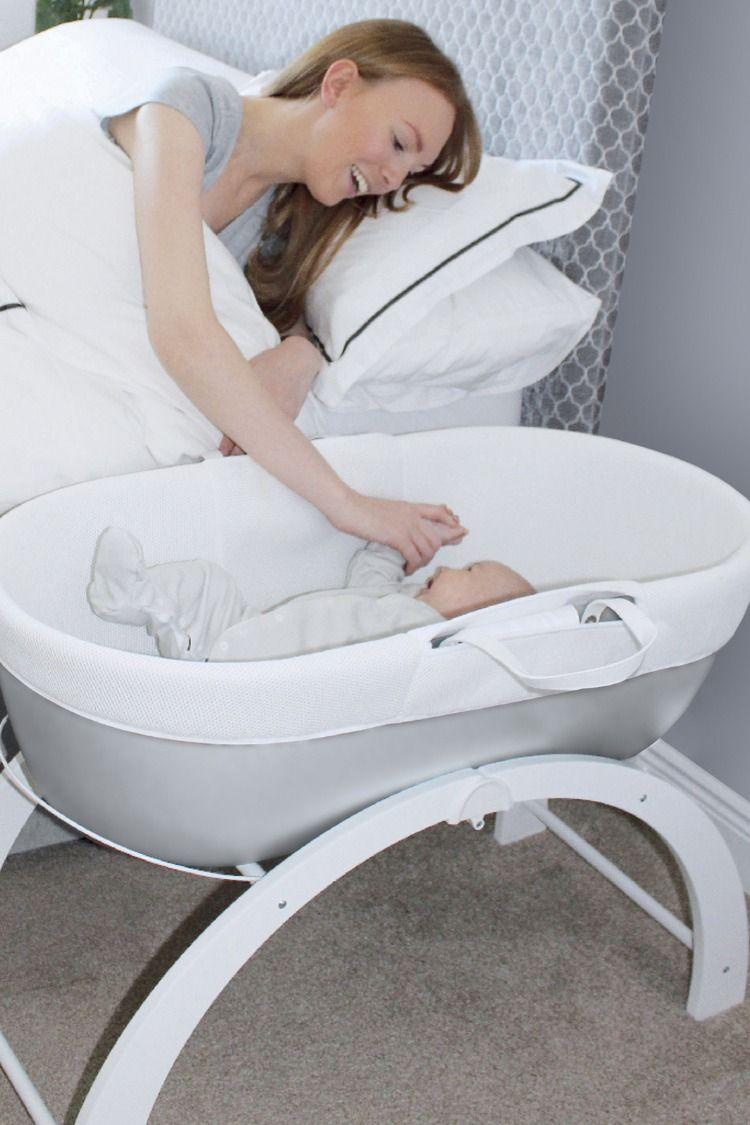 landau bébé avec support