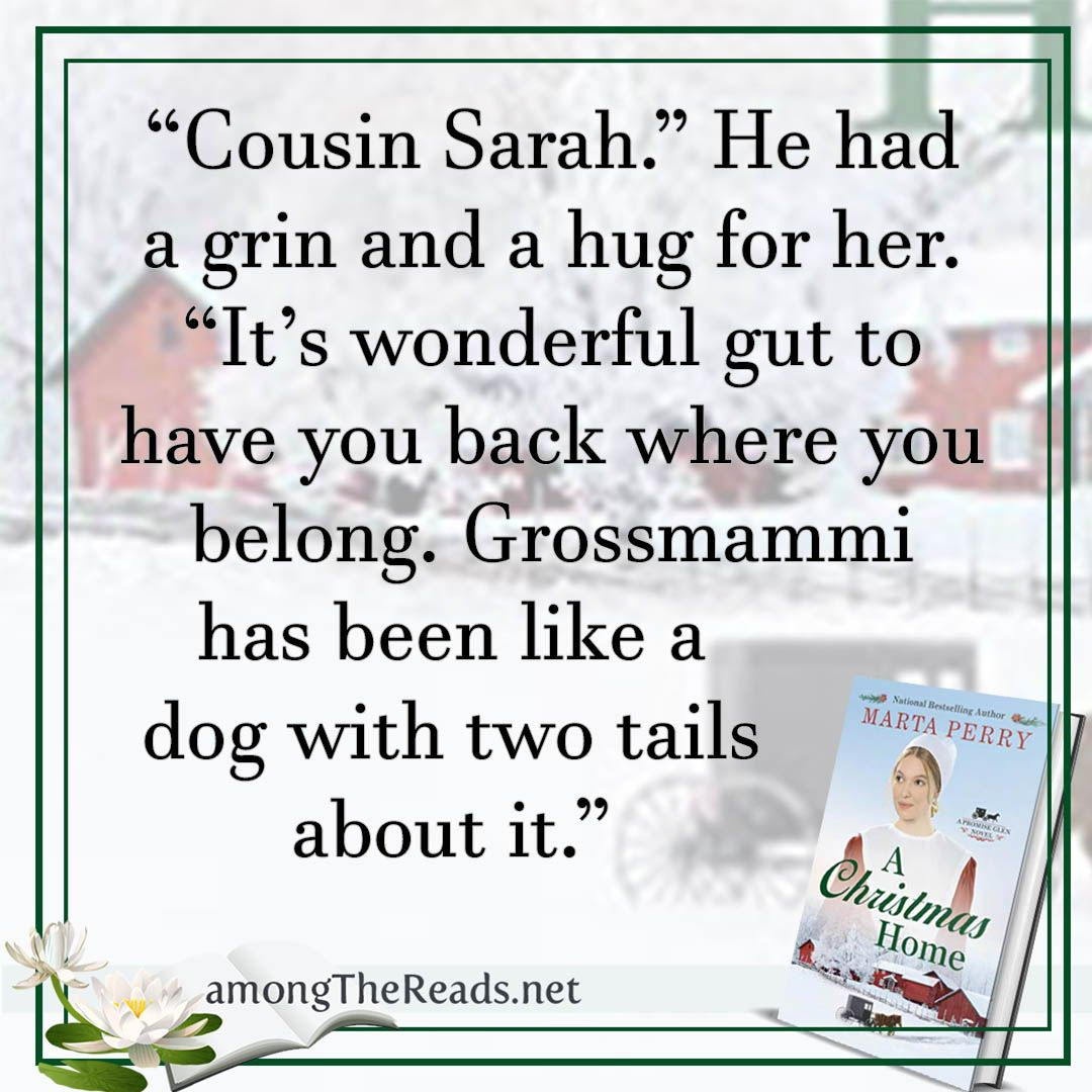 A Christmas Home by Marta Perry Promise Glen Series 1